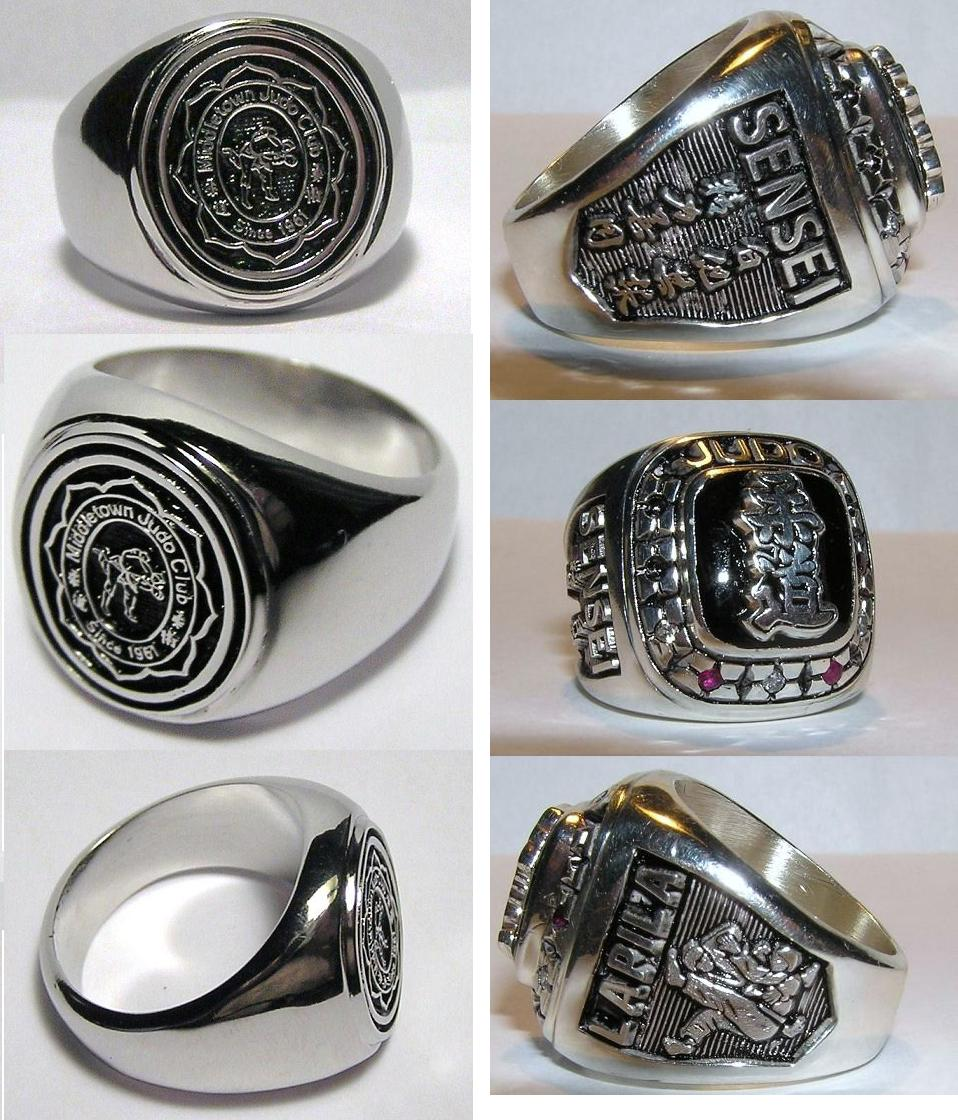 jewelry corporate two awards corp club rings